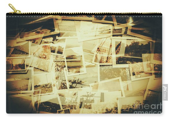 Storyboard Of Past Memories Carry-all Pouch