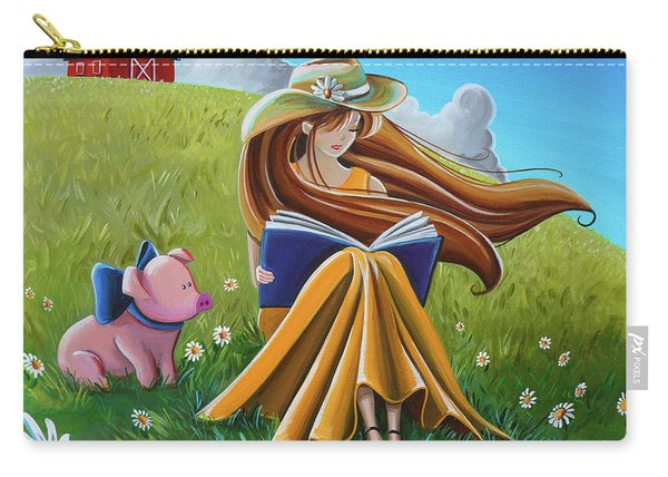 Storytime On The Farm Carry-all Pouch