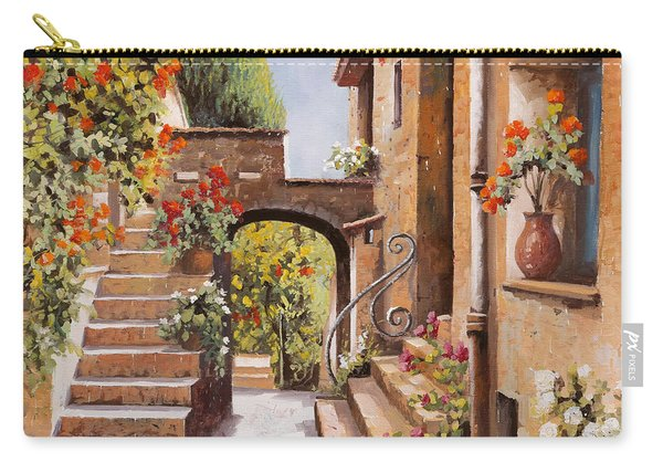 stradina di Cagnes Carry-all Pouch