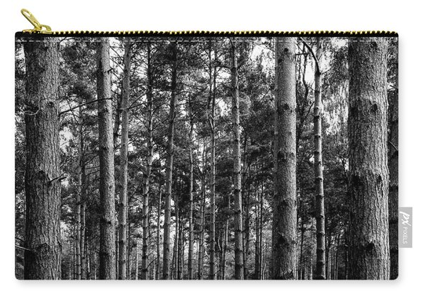 Carry-all Pouch featuring the photograph Straight Up by Nick Bywater