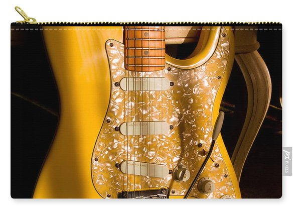 Stratocaster Plus In Graffiti Yellow Carry-all Pouch