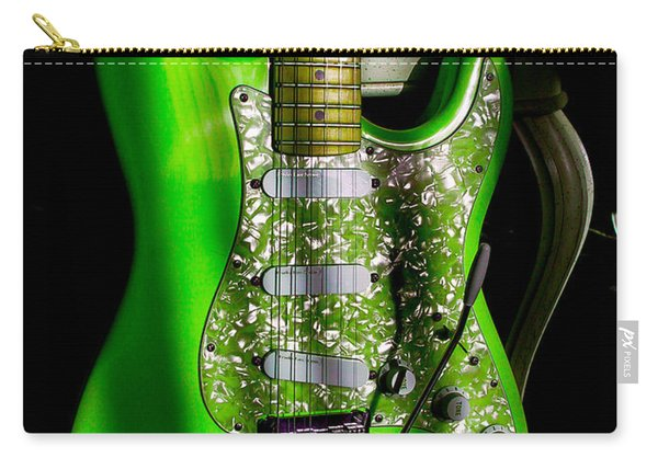 Stratocaster Plus In Green Carry-all Pouch