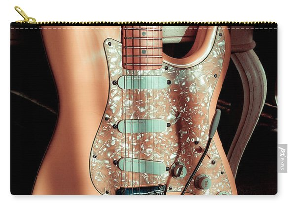 Stratocaster Plus In Shell Pink Carry-all Pouch