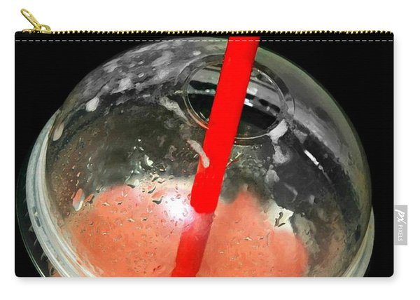 The Red Straw Carry-all Pouch