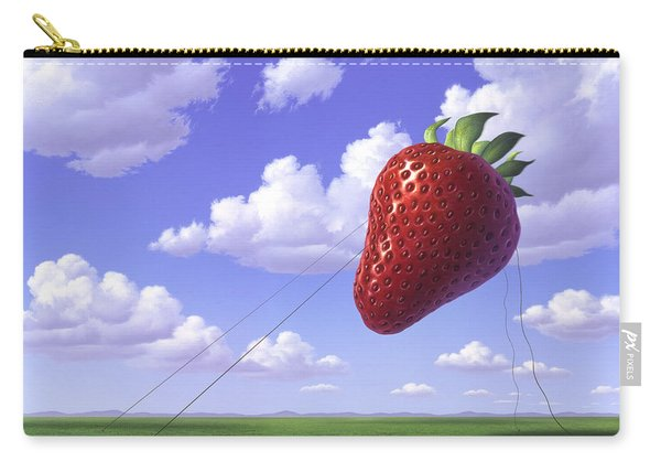 Strawberry Field Carry-all Pouch
