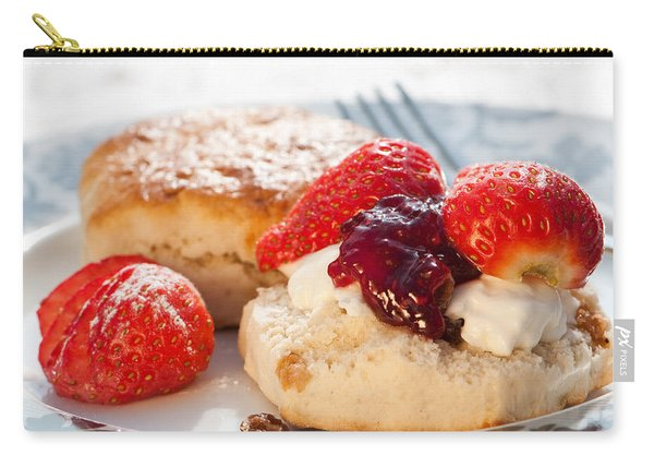 Strawberry Scones Carry-all Pouch