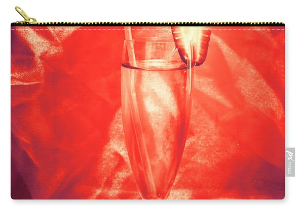 Straweberry Tropical Cocktail Drink Carry-all Pouch