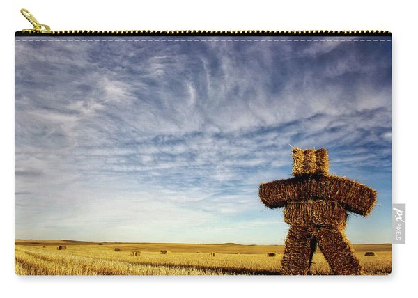 Strawman On The Prairies Carry-all Pouch