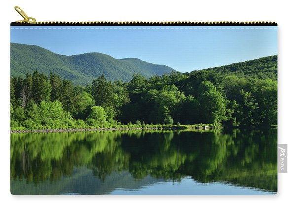 Streak Of Light At The Lake Carry-all Pouch