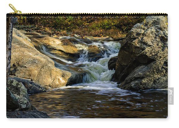 Stream In Autumn No.17 Carry-all Pouch