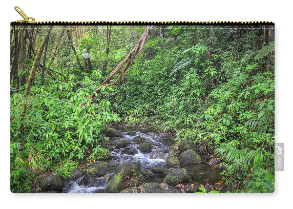 Stream In The Rainforest Carry-all Pouch