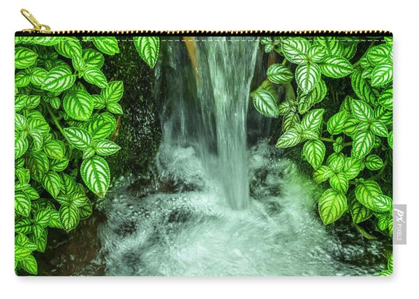 Streaming In The Green Carry-all Pouch