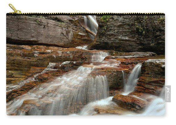 Streams Below Virginia Falls Carry-all Pouch