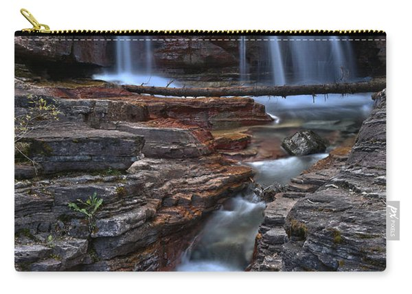 Streams Over Red Rocks Carry-all Pouch