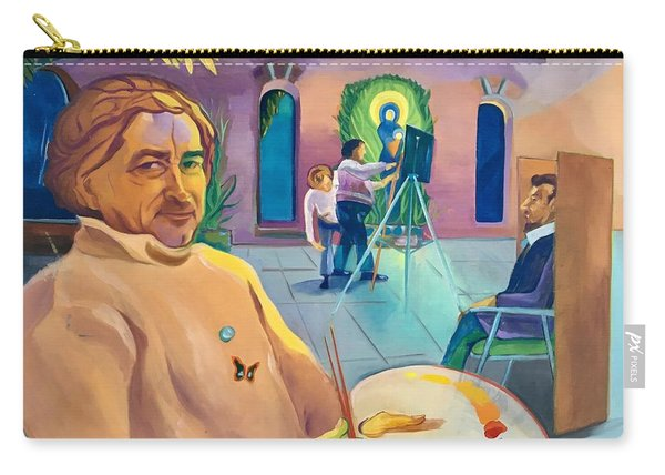 Street Artist Eric Fisherman's Wharf Carry-all Pouch