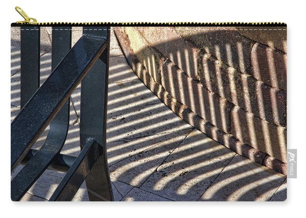Street Bench 2 Abstract Carry-all Pouch