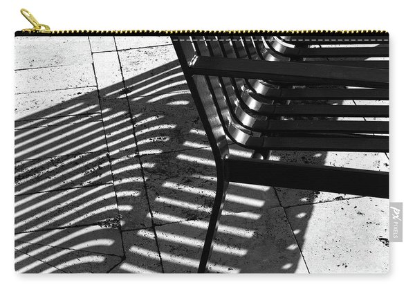 Street Bench Abstract Carry-all Pouch