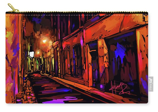 Street In Avignon, France Carry-all Pouch