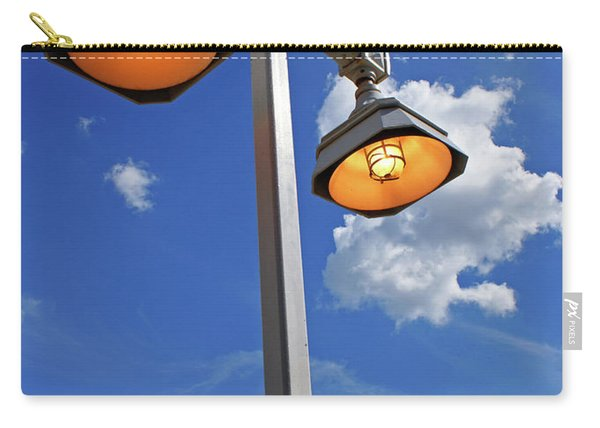 Street Lights, Blue Sky Carry-all Pouch