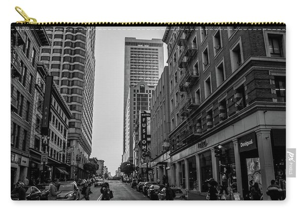 Street Scene, Nyc Carry-all Pouch