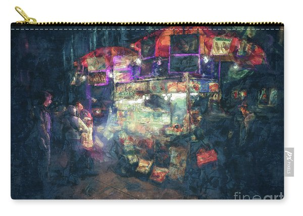 Street Vendor Food Stand Carry-all Pouch