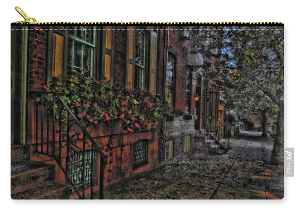 Streets Of Fairmont Carry-all Pouch
