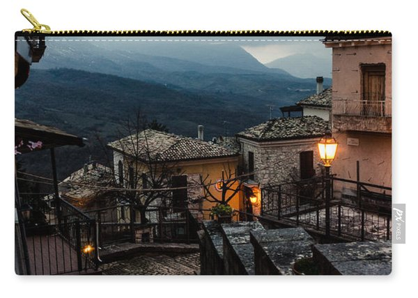 Streets Of Italy - Caramanico 3 Carry-all Pouch