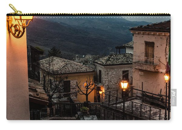 Streets Of Italy - Caramanico Carry-all Pouch