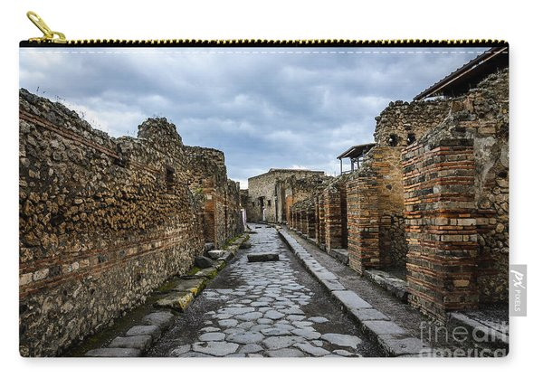 Streets Of Pompeii 2 Carry-all Pouch