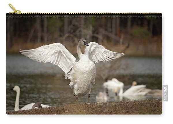 Stretch Your Wings Carry-all Pouch