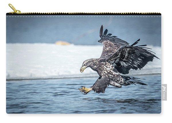 Stretched Out Eagle Carry-all Pouch