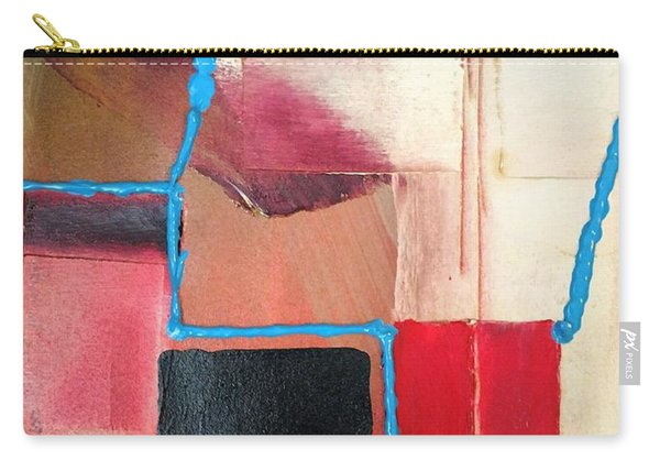 String Theory Abstraction Carry-all Pouch