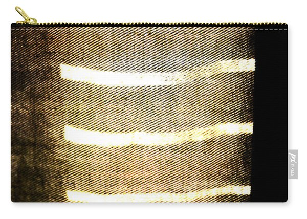 Stripes And Texture Carry-all Pouch