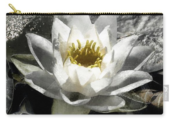 Strokes Of The Lily Carry-all Pouch
