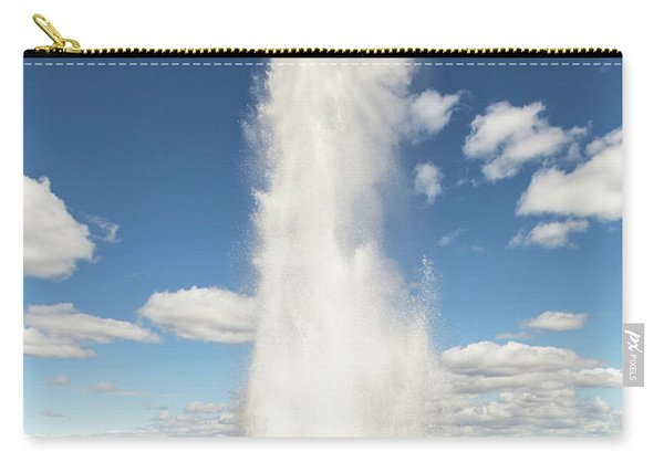 Strokkur Geyser In Iceland Carry-all Pouch