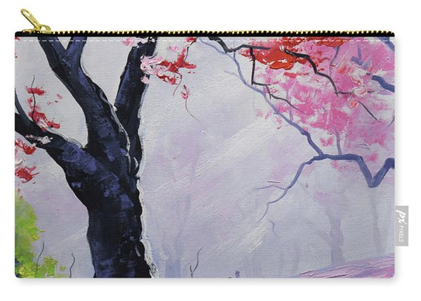 Stroll In The Mist Carry-all Pouch
