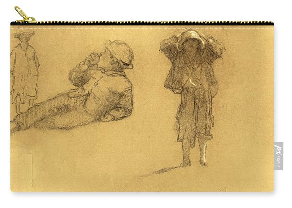 Studies Of Children Carry-all Pouch