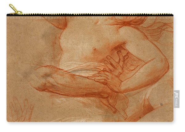 Study For Boreas Abducting Oreithyia Carry-all Pouch