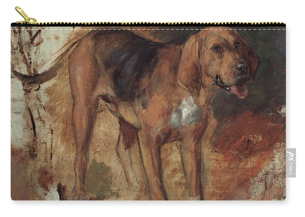 Study Of A Bloodhound Carry-all Pouch
