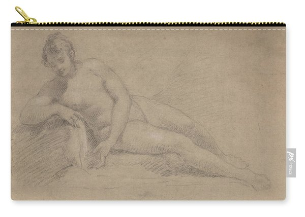 Study Of A Female Nude Carry-all Pouch