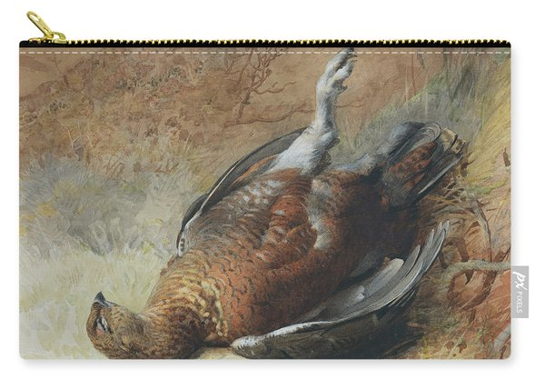 Study Of A Grouse Carry-all Pouch
