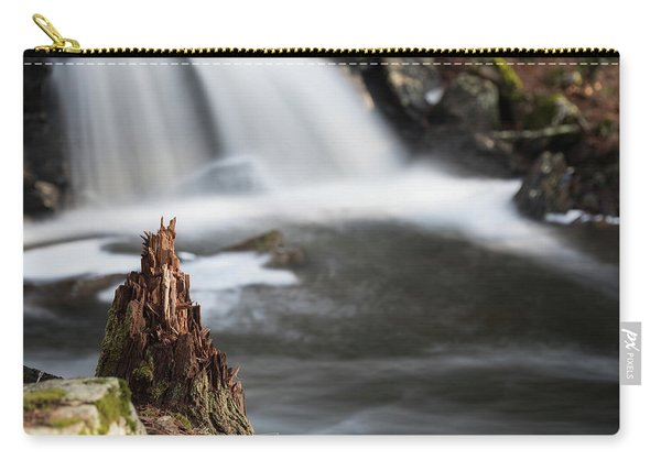 Stumped At The Secret Waterfall Carry-all Pouch
