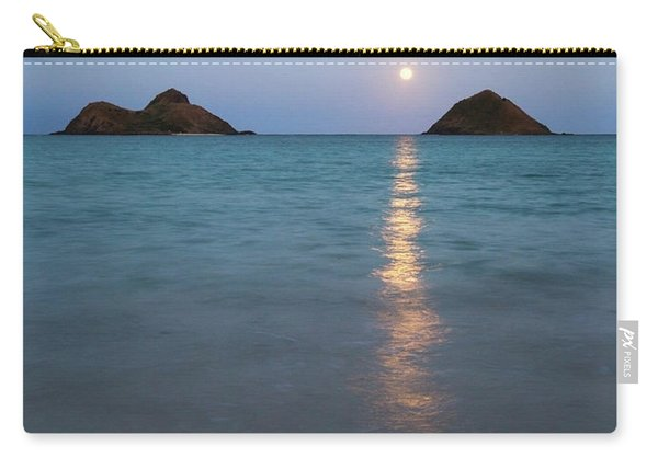 Stunning Hawaii Moonrise Carry-all Pouch