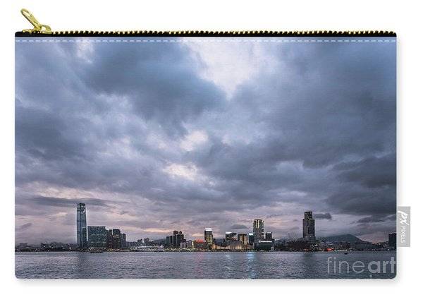 Stunning Sunset Over Kowloon In Hong Kong Carry-all Pouch