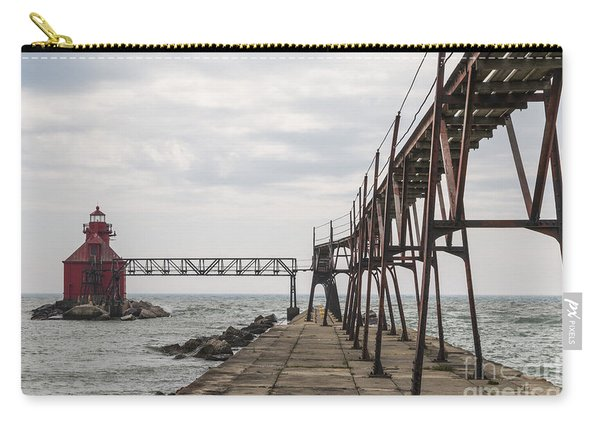 Sturgeon Bay Ship Canal North Pierhead Lighthouse 1 Carry-all Pouch