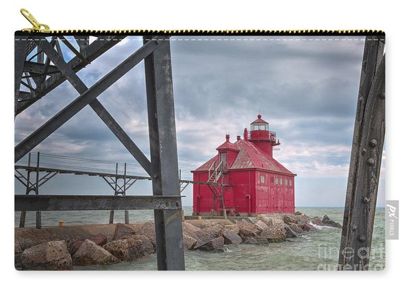 Sturgeon Bay Ship Canal North Pierhead Lighthouse 2 Carry-all Pouch