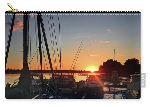Sturgeon Bay Sunset Carry-all Pouch