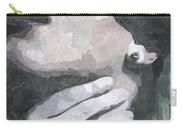 Submission In Black Carry-all Pouch
