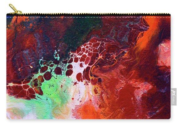 Subtle Vibrations, Canvas Five Of Five Carry-all Pouch