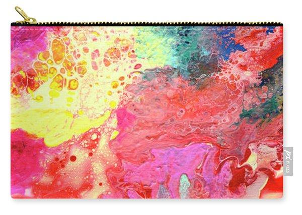 Subtle Vibrations, Canvas Four Of Five Carry-all Pouch